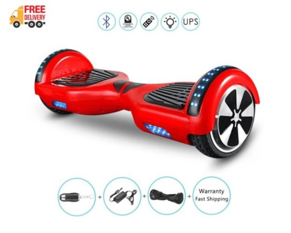 6.5 inch red hoverboards