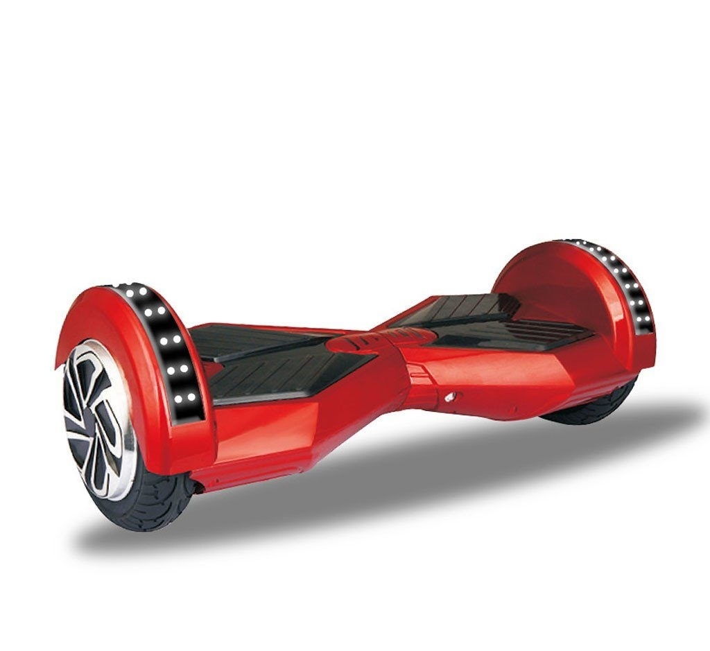 hoverboard red 8 inch