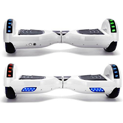 hoverboard white front side