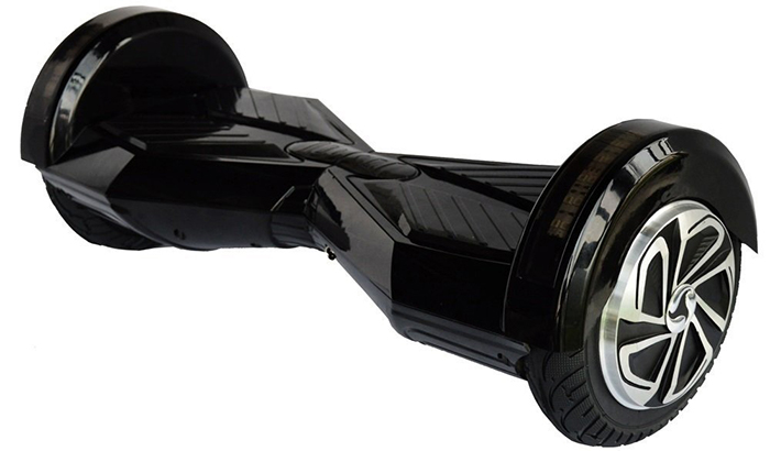 hoverboard black 8 inch1