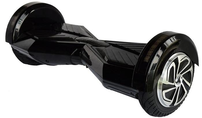 hoverboard black 8 inch1