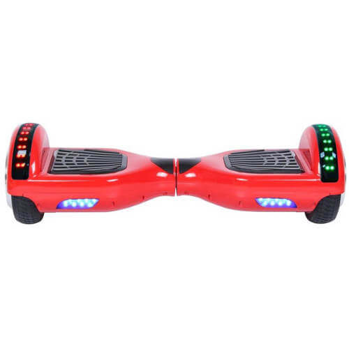 red segway board with LED