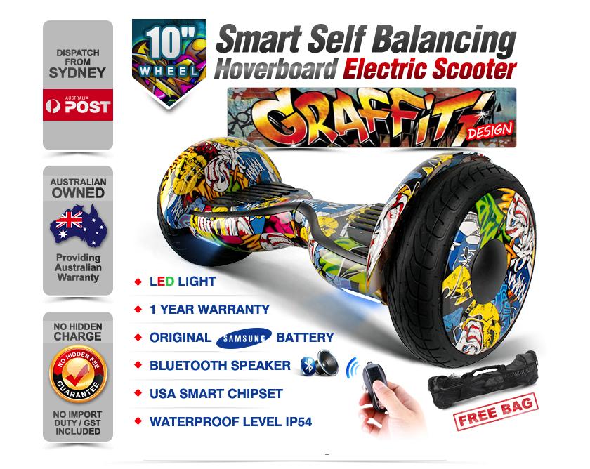 graffiti 10 inch hoverboard