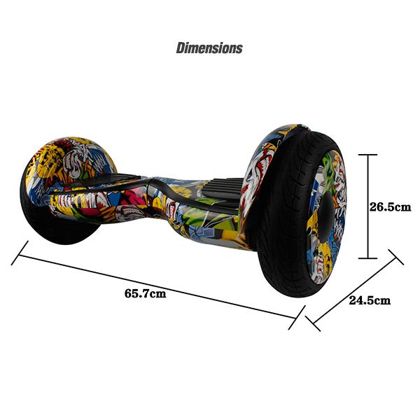 graffiti 10 inch hoverboard11