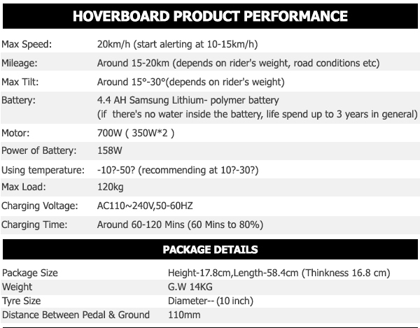 multi color 10 inch hoverboard3